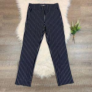 Margaret M Sylvie Slimming Pants Stripe Trousers